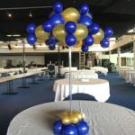Centre de Table Bleu-Or