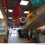 Décors centre commercial de Thônex