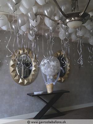 Ballons-helium-plafond blanc