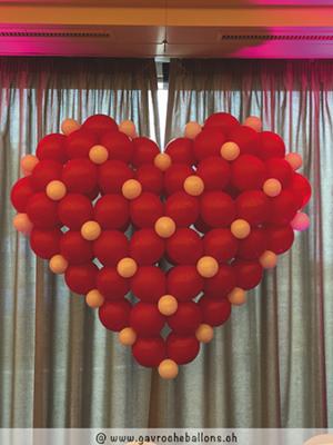 Grand Coeur rouge