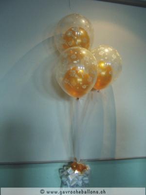 Grappe hélium or transparent